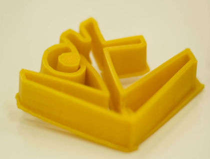 Classic 3d printed dhf logo cropped