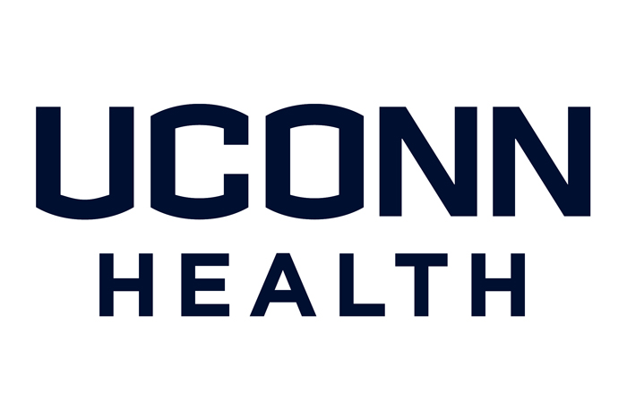 Classic uconn health wordmark stacked blue today