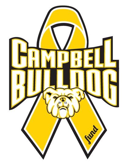 Classic campbell bulldog logo