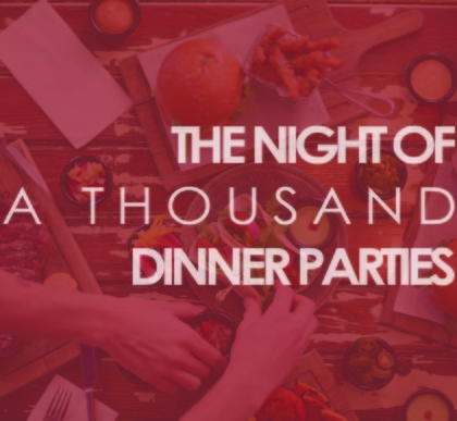 Classic night of 1 000 dinner parties logo