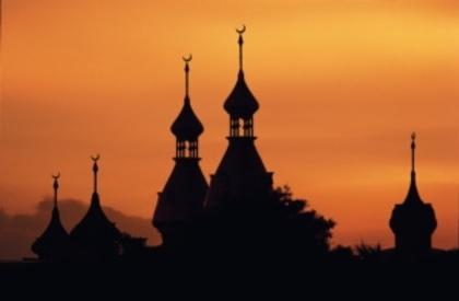 Classic golden minarets