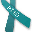 Small ptsd ribbon