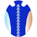Small logo oval