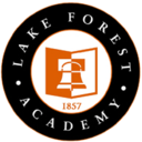 Small lakeforestacademy seal white