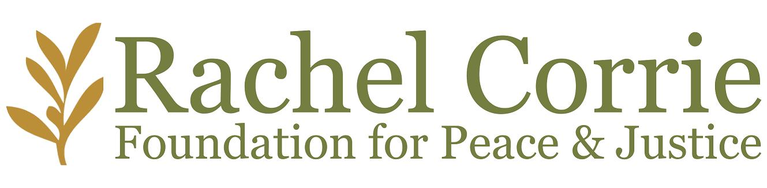 RACHEL CORRIE FOUNDATION FOR PEACE AND JUSTICE logo