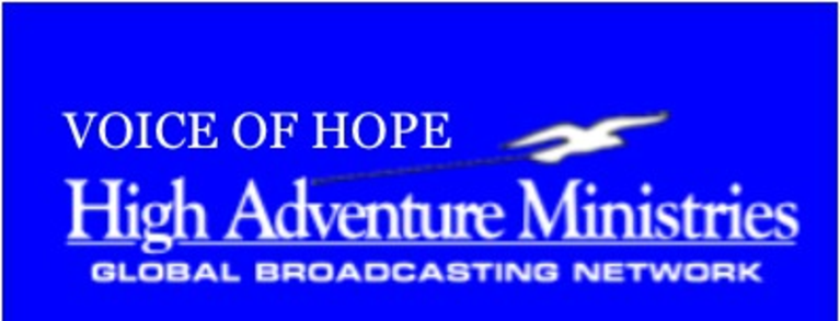 VOICE OF HOPE - High Adventure Ministries logo