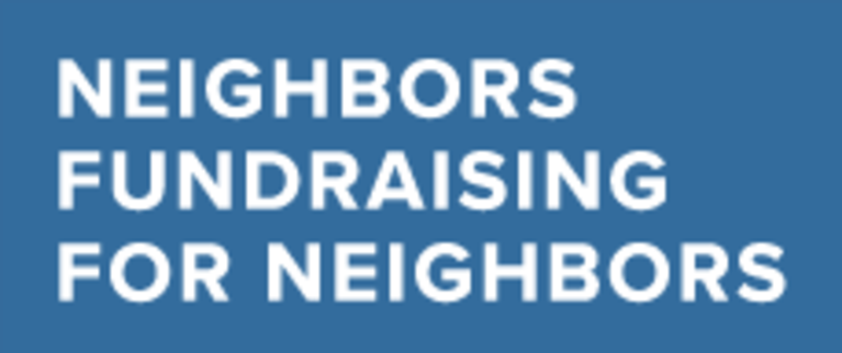 Neighbors Fundraising For Neighbors logo