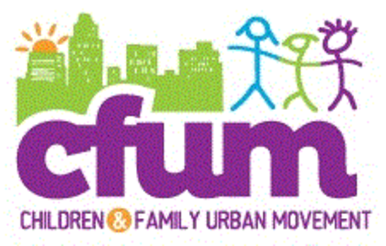 CHILDREN AND FAMILY URBAN MOVEMENT logo