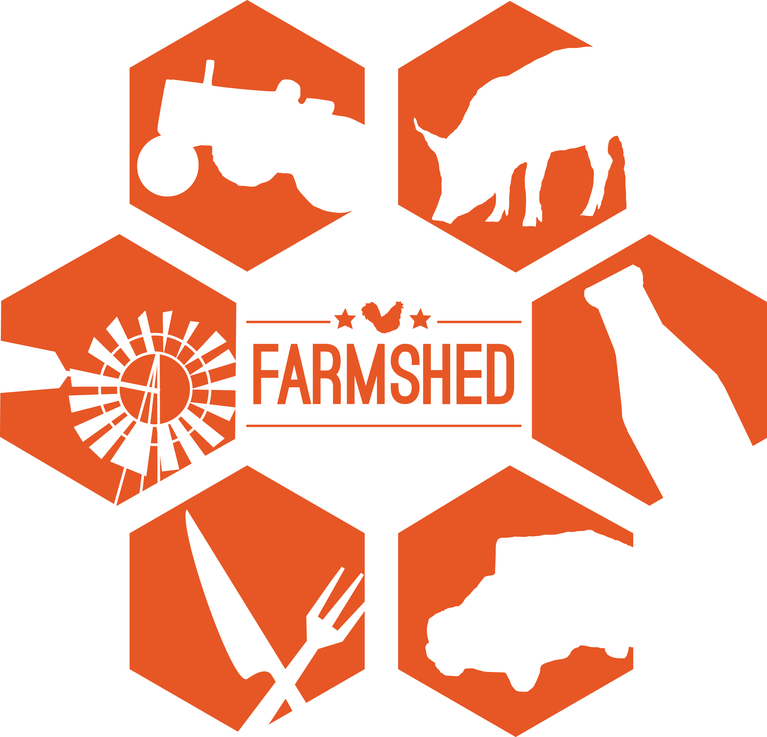 THE CENTRAL RIVERS FARMSHED logo
