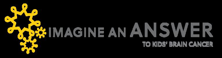 Imagine an Answer to Kids Brain Cancer logo