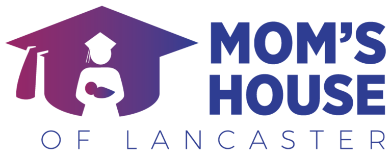 Mom's House of Lancaster logo