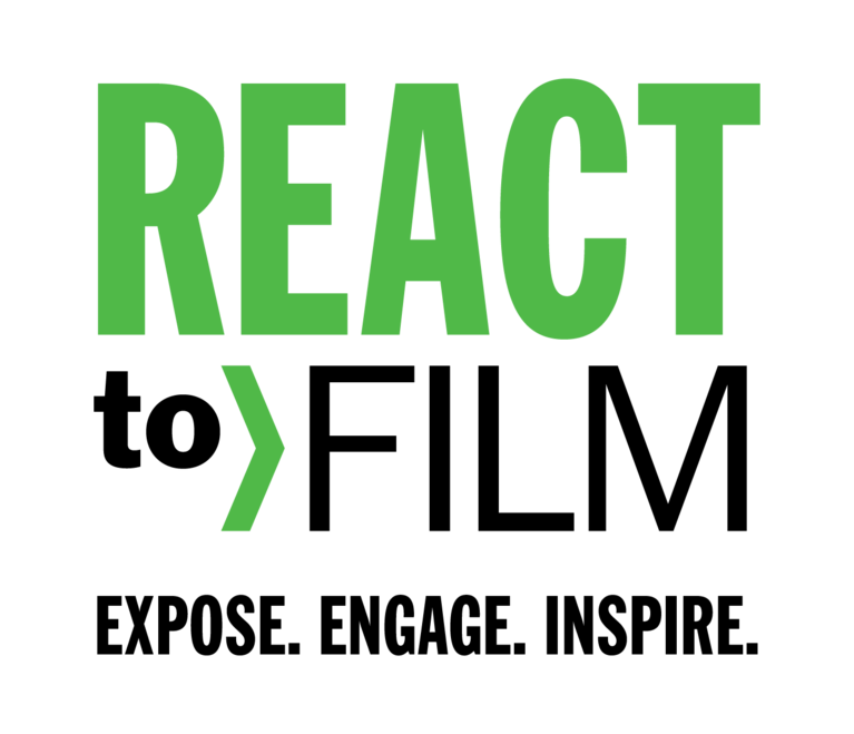 REACT to FILM logo