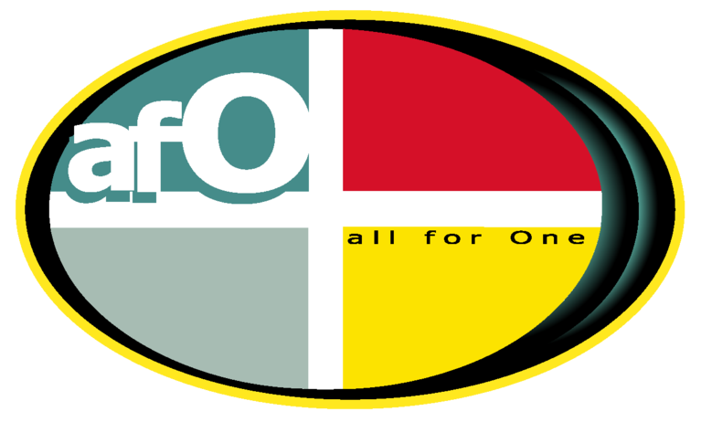 all for One productions, inc logo