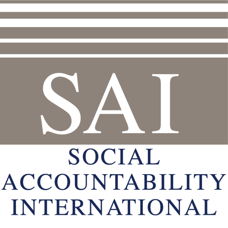 Social Accountability International logo