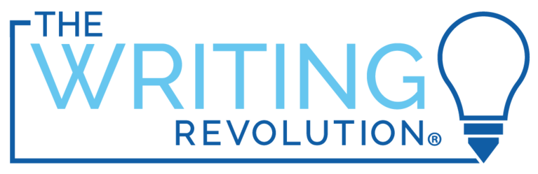 The Writing Revolution logo