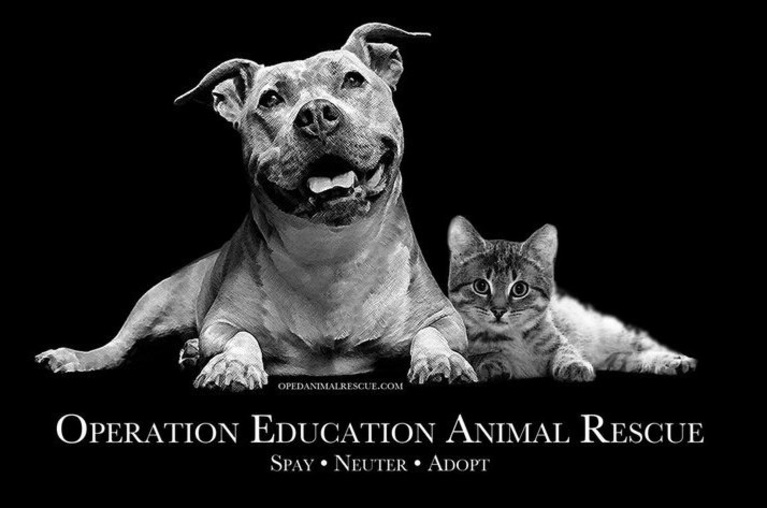 OPERATION EDUCATION ANIMAL RESCUE logo