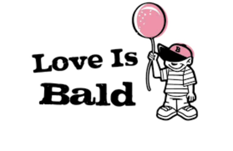 LOVE IS BALD INC logo