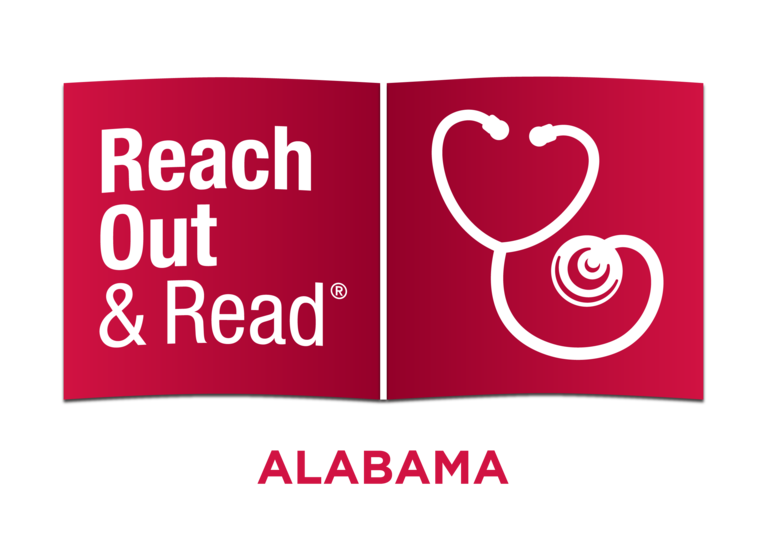 Reach Out and Read-Alabama logo