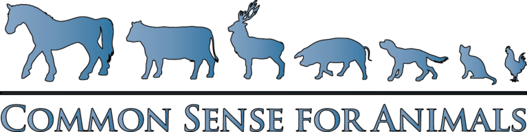 Common Sense for Animals - A New Jersey Non-Profit Corporation logo
