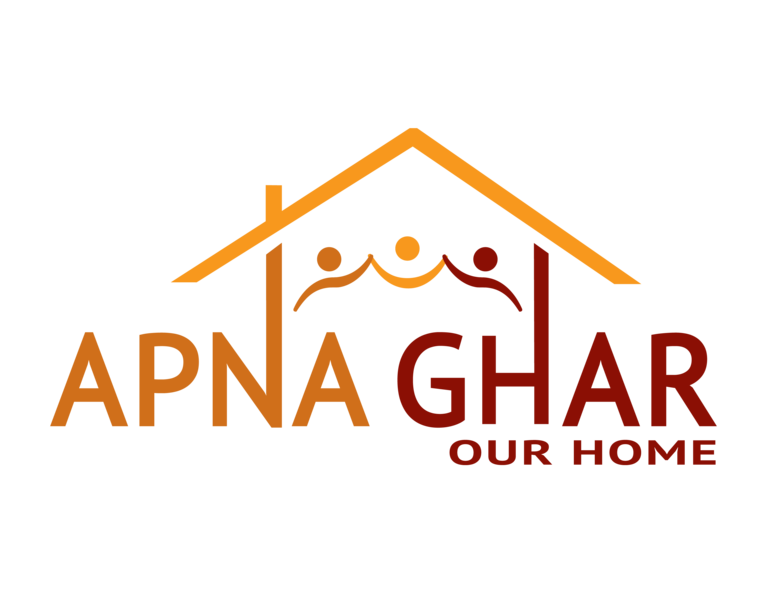 APNA GHAR INC OUR HOME logo
