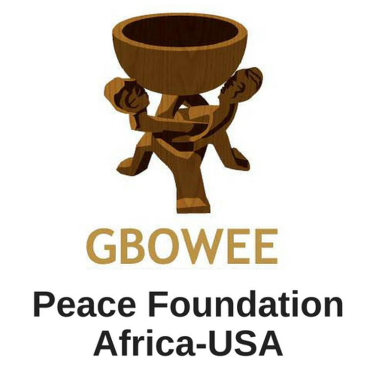 GBOWEE PEACE FOUNDATION AFRICA-USA logo