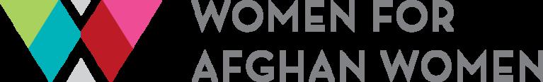 Women for Afghan Women logo