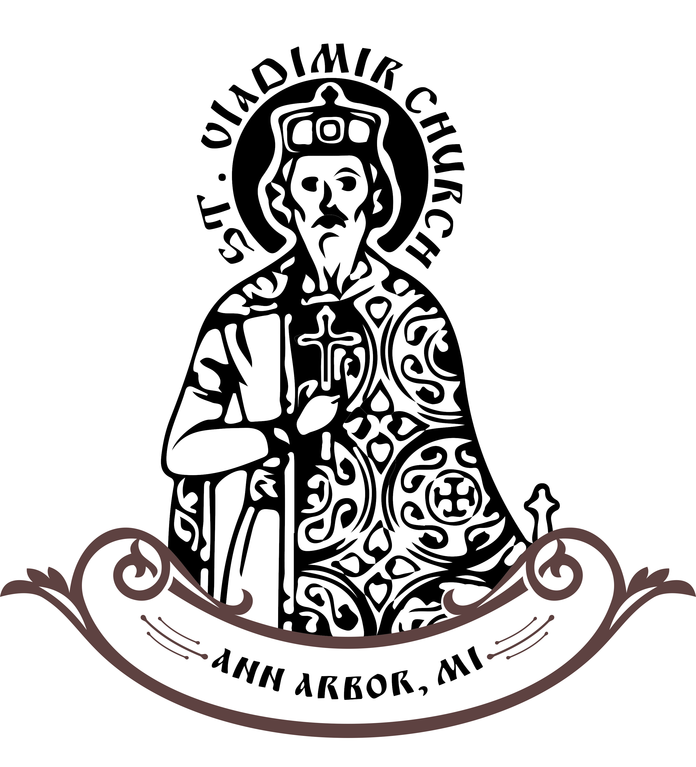 ST VLADIMIR RUSSIAN ORTHODOX CHURCH logo