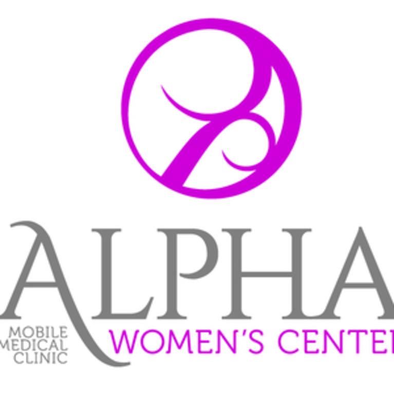 ALPHA WOMENS CENTER logo