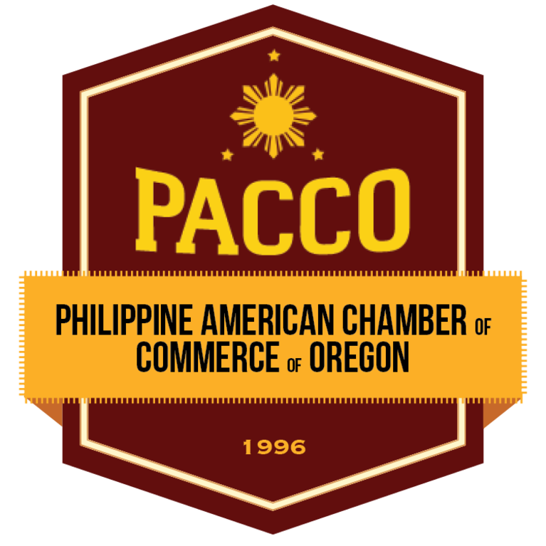 PHILIPPINE AMERICAN CHAMBER OF COMMERCE OF OREGON logo