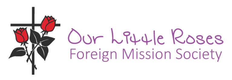 OUR LITTLE ROSES FOREIGN MISSION SOCIETY logo