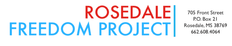 Rosedale Freedom Project logo