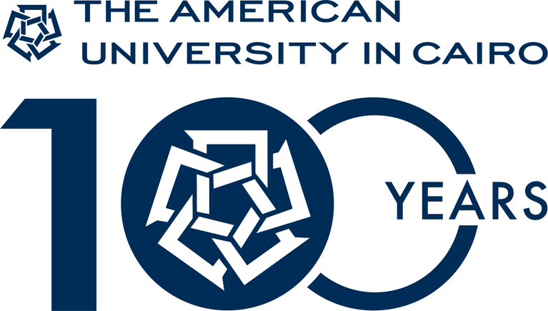 American University in Cairo logo