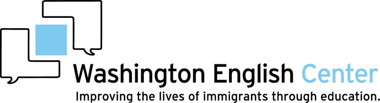 WASHINGTON ENGLISH CENTER logo