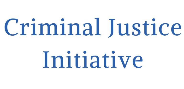 Criminal Justice Initiative