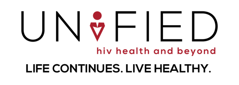 UNIFIED - HIV Health and Beyond logo