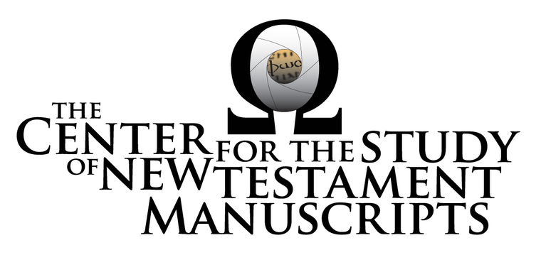 The Center for the Study of New Testament Manuscripts logo