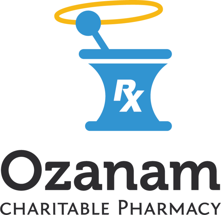 Ozanam Charitable Pharmacy, Inc.  logo