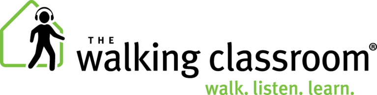 The Walking Classroom Institute logo