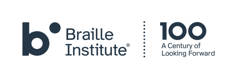 Braille Institute of America, Inc. logo