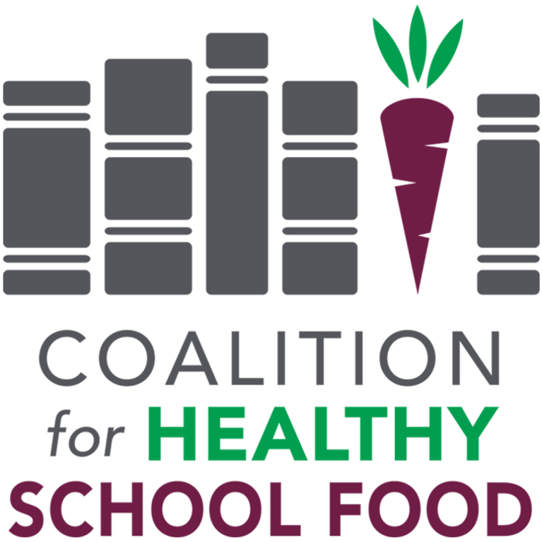 Coalition for Healthy School Food logo