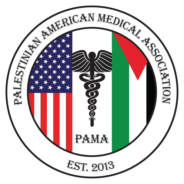 PALESTINIAN AMERICAN MEDICAL ASSOCIATION logo
