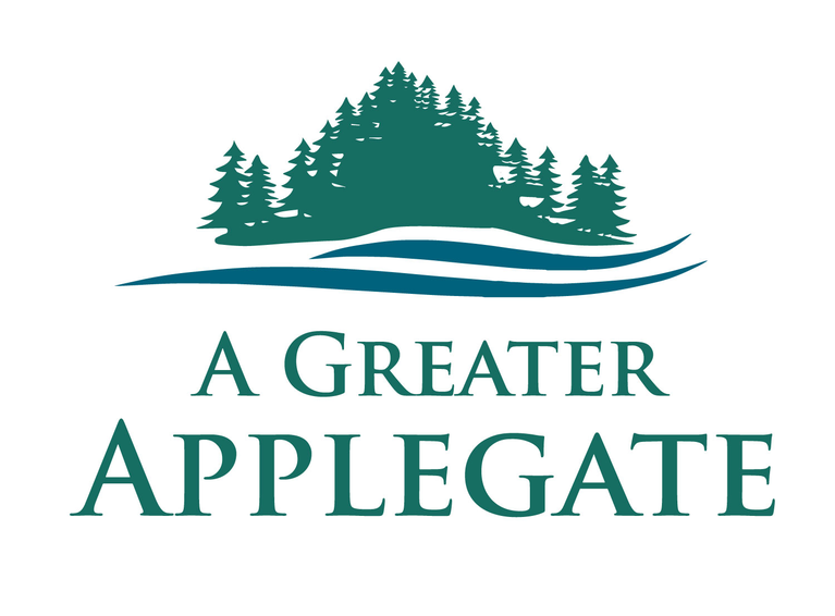 A Greater Applegate logo