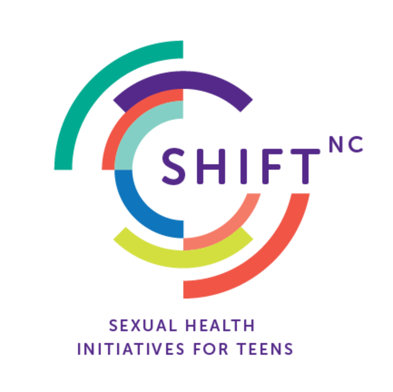 SHIFT NC (Sexual Health Initiatives For Teens) logo