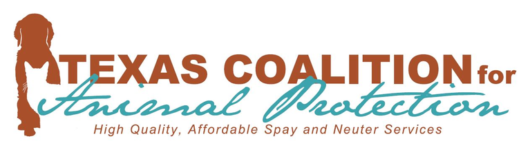 TEXAS COALITION FOR ANIMAL PROTECTION logo