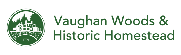 Vaughan Woods & Historic Homestead logo