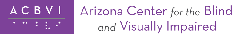 Arizona Center for the Blind and Visually Impaired logo