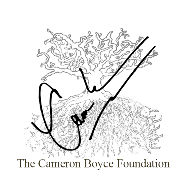 The Cameron Boyce Foundation  logo