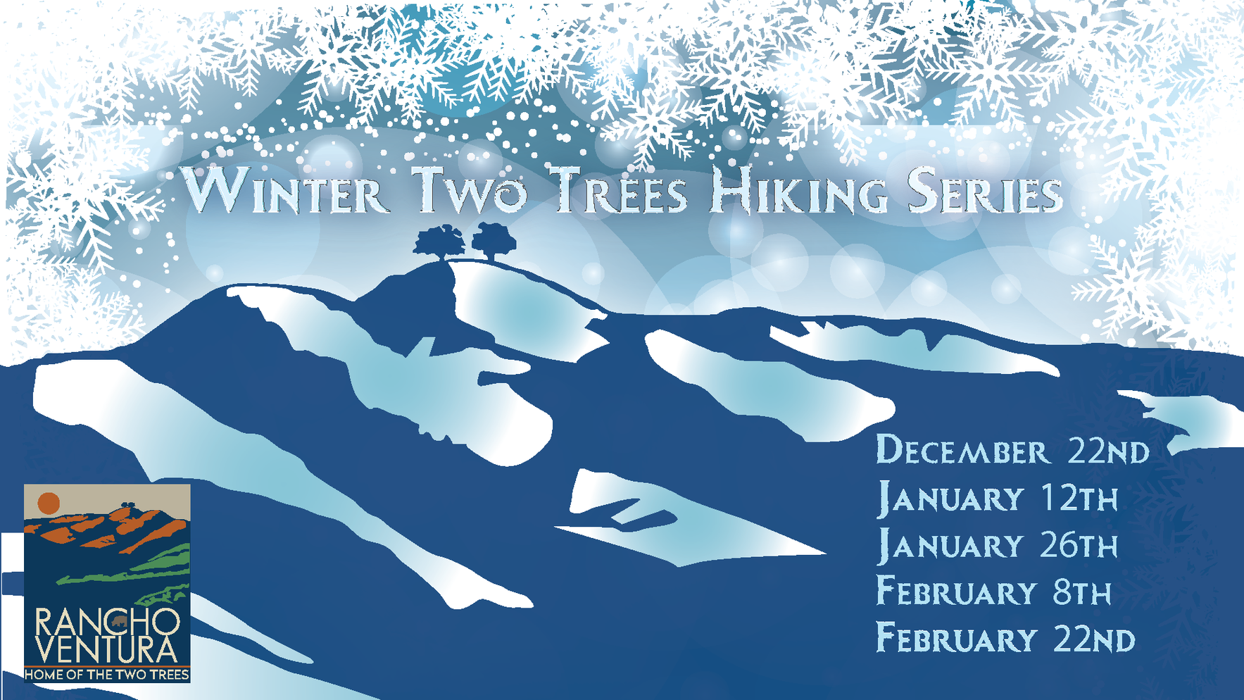 Winter Two Trees Hike Series 01/26 8am -10am image