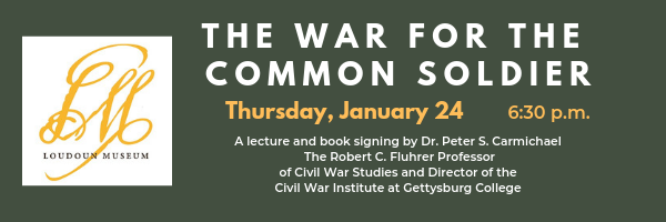 "Free public lecture: ""The War for the Common Soldier"" image"
