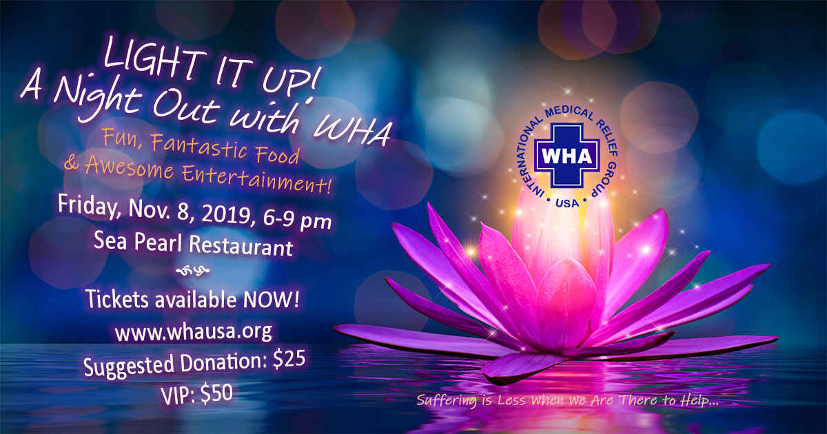 LIGHT IT UP! A Night Out with WHA image